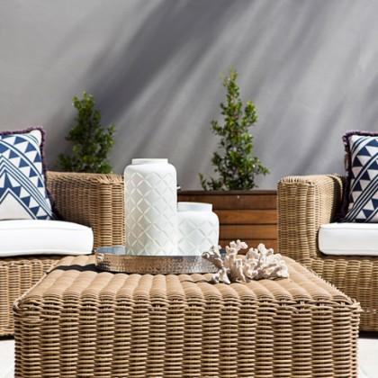 Wicker Outdoor Armchairs