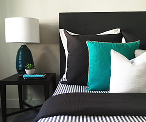 Bedroom Styling Stripe sheets