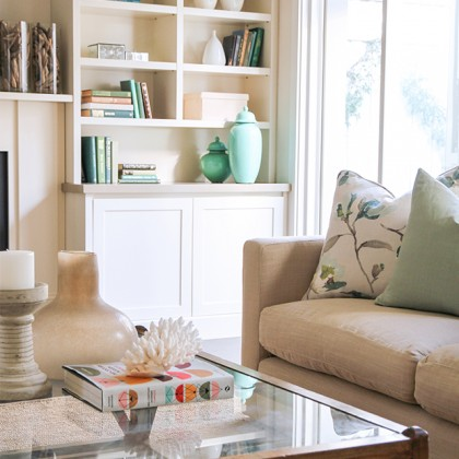 Lounge Room Styling Photo