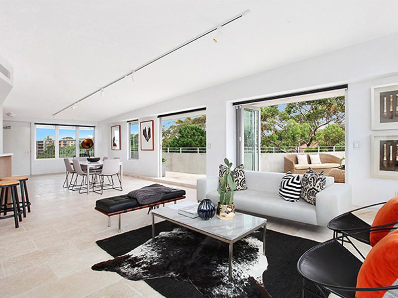 Modern Lounge Room Styling in Bondi Junction