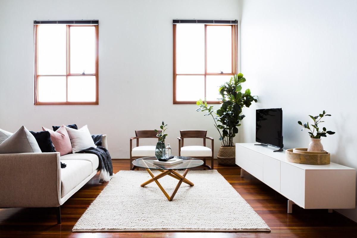 Leichhardt loft bright bold and modern