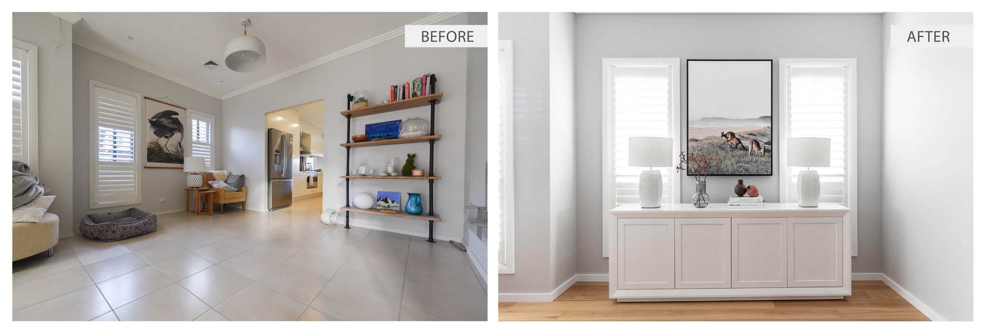 RODD POINT HOUSE - BEFORE / AFTER