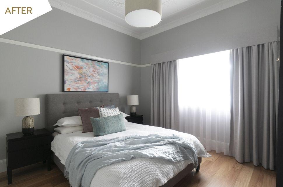Bedroom after renovations